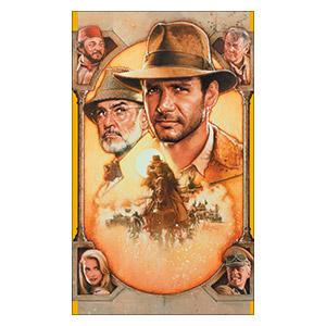 Indiana Jones. Размер: 60 х 100 см
